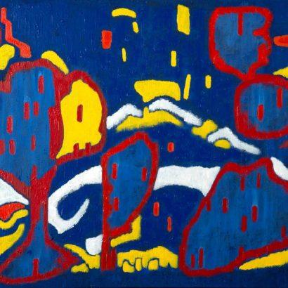 """Blaue Landschaft """"Dinklage"""""""